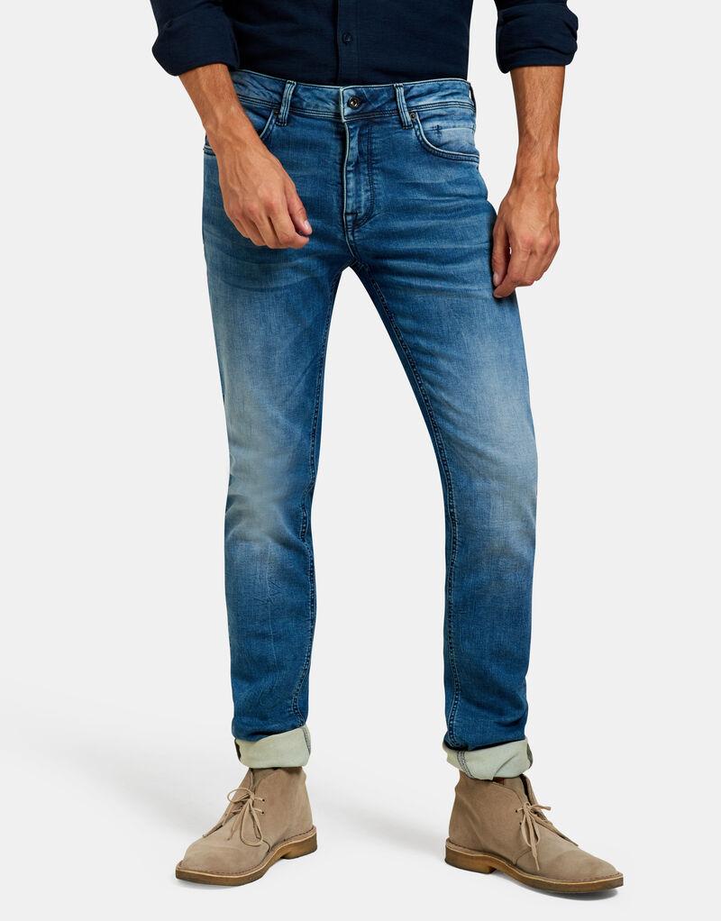 Lucas Slim Medium Stone Jeans L34