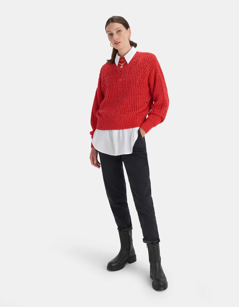Novi Colour Pullover