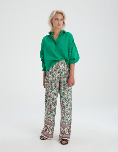 Bowie Green Blouse