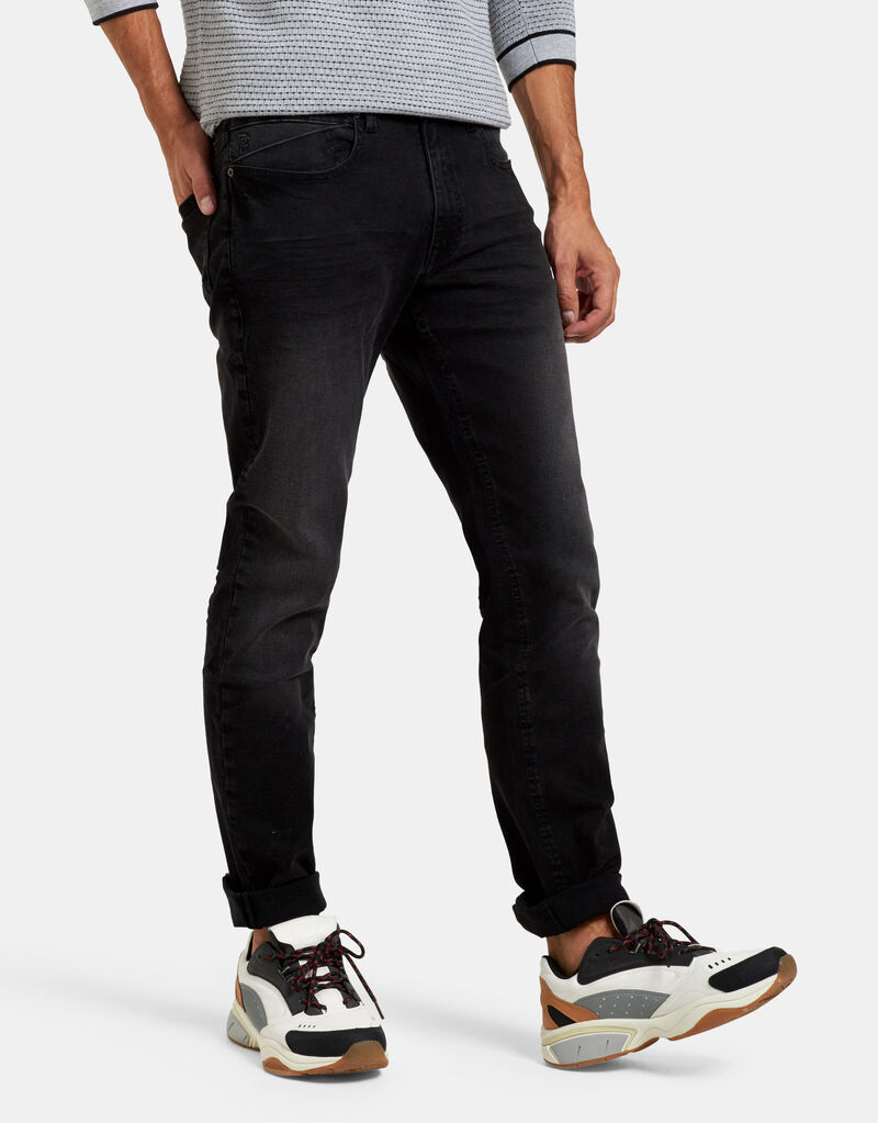 Lewis Straight Washed Black Jeans L32