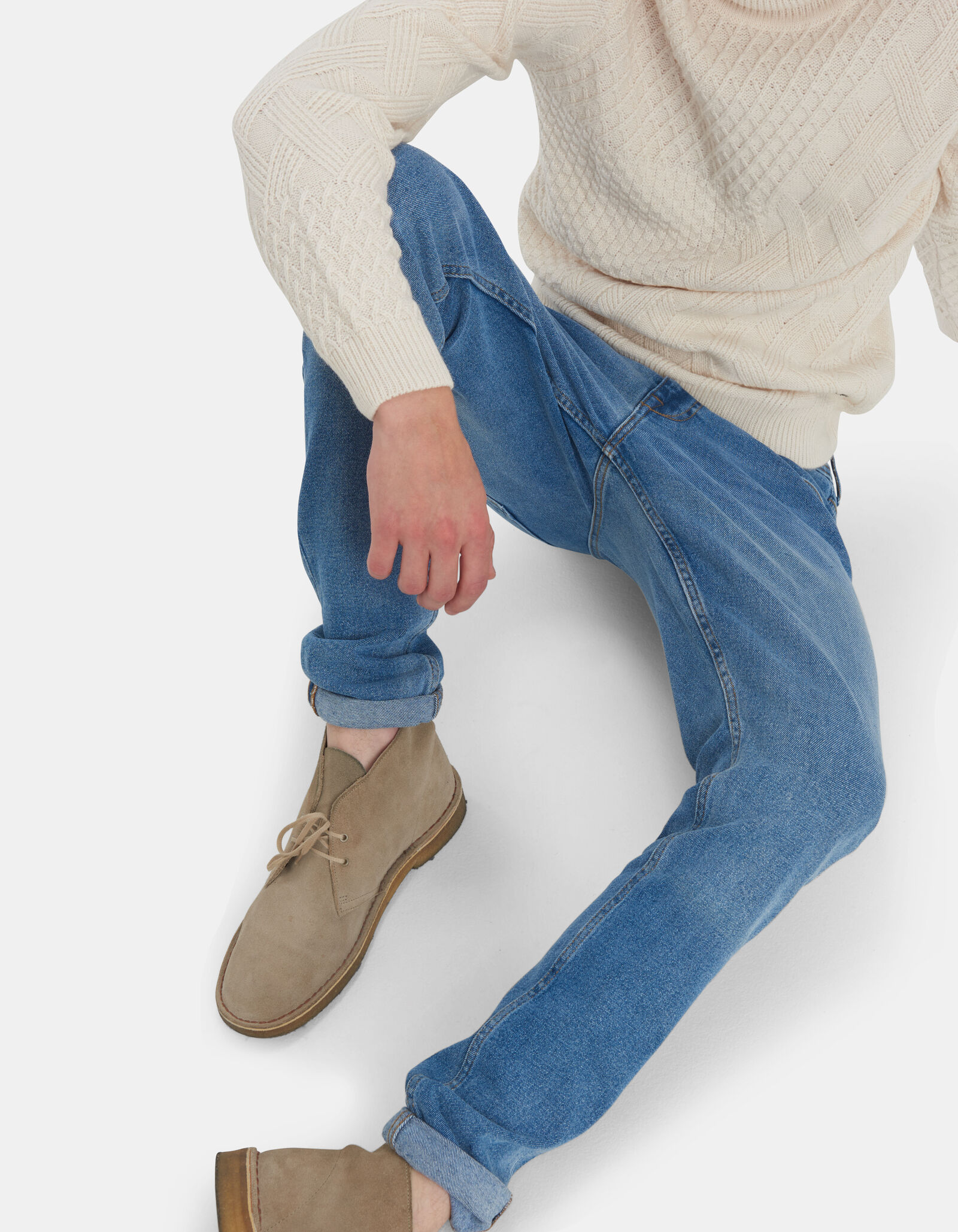 Lucas Slim Tapered Jeans L34