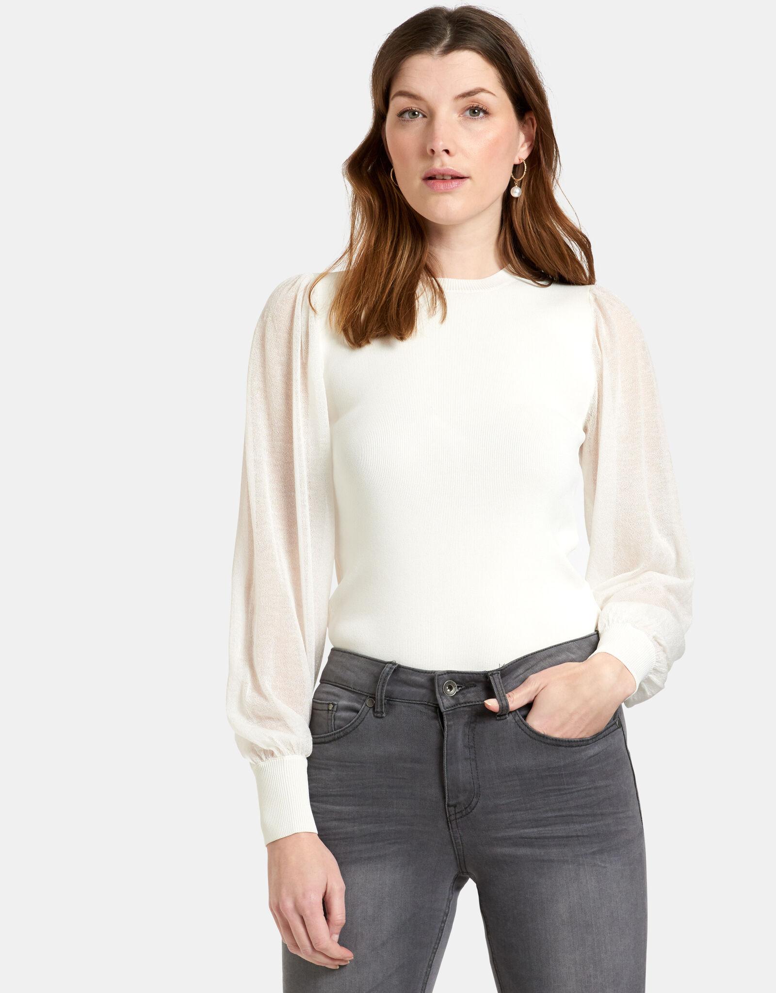 Transparant Pullover