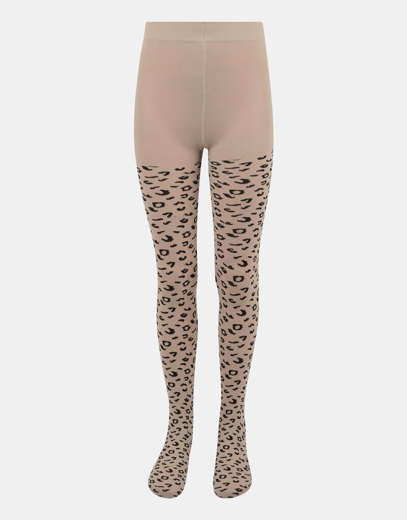 Leopard Panty 40 Denier