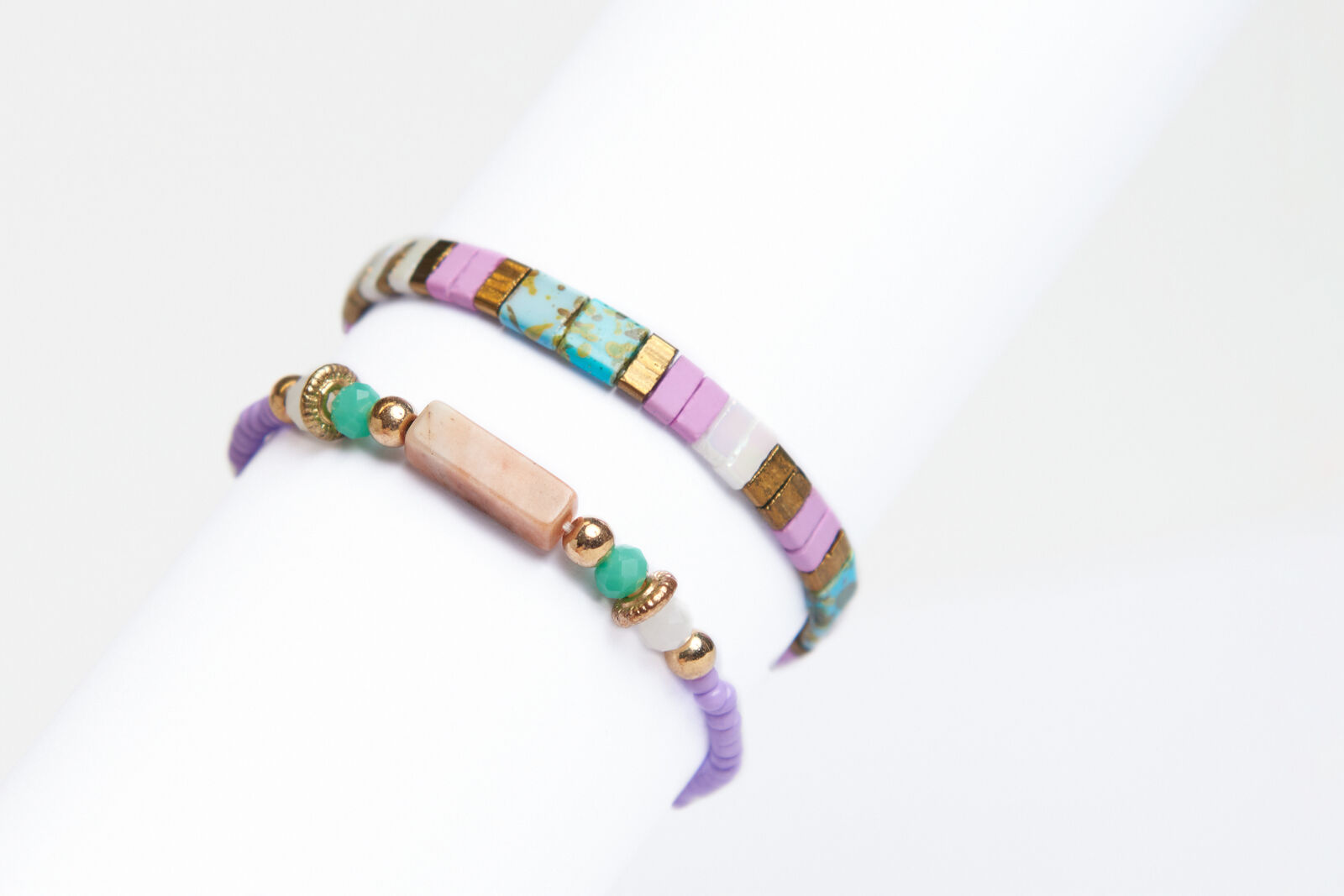 Pastel Armbanden Set