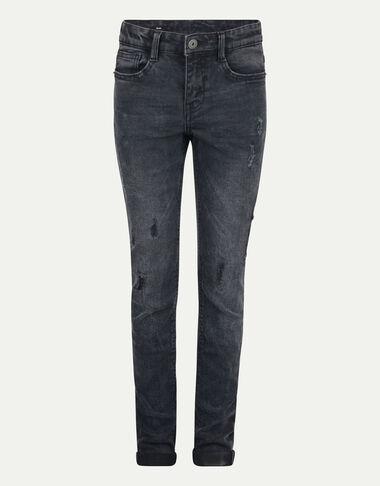 Check Slim Jeans