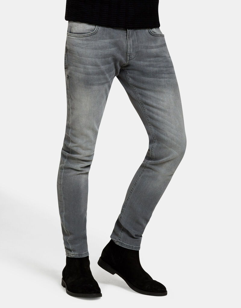 Leroy Skinny Grey Jeans L34