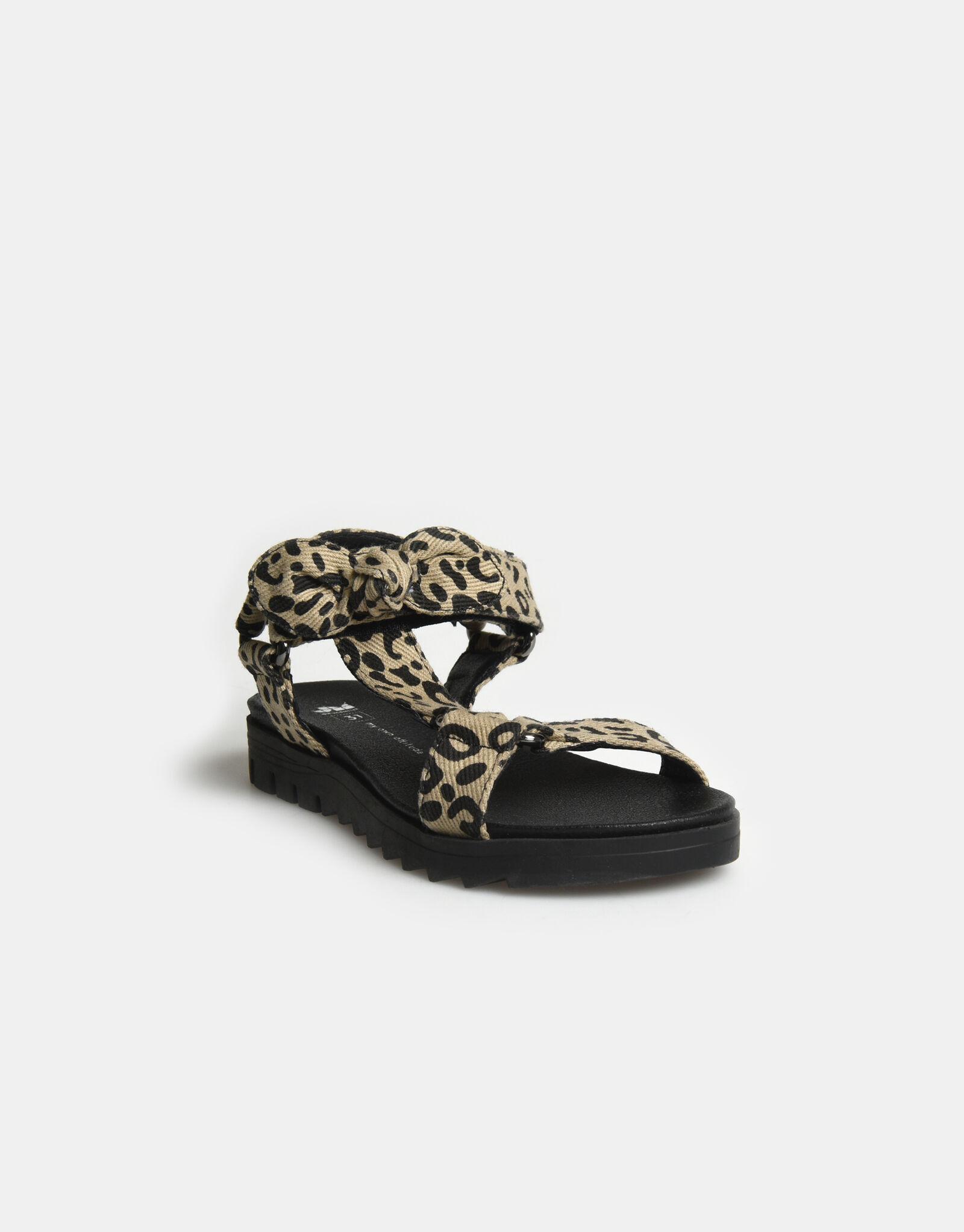 Leopard Sandaal