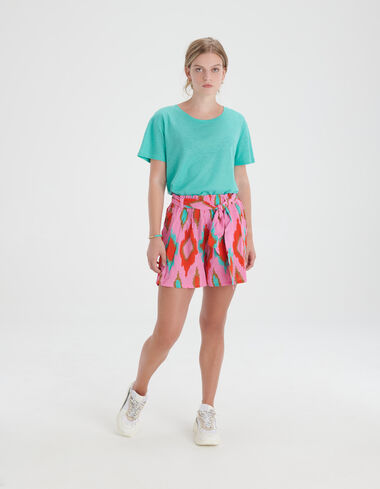 Linnen Mix T-shirt