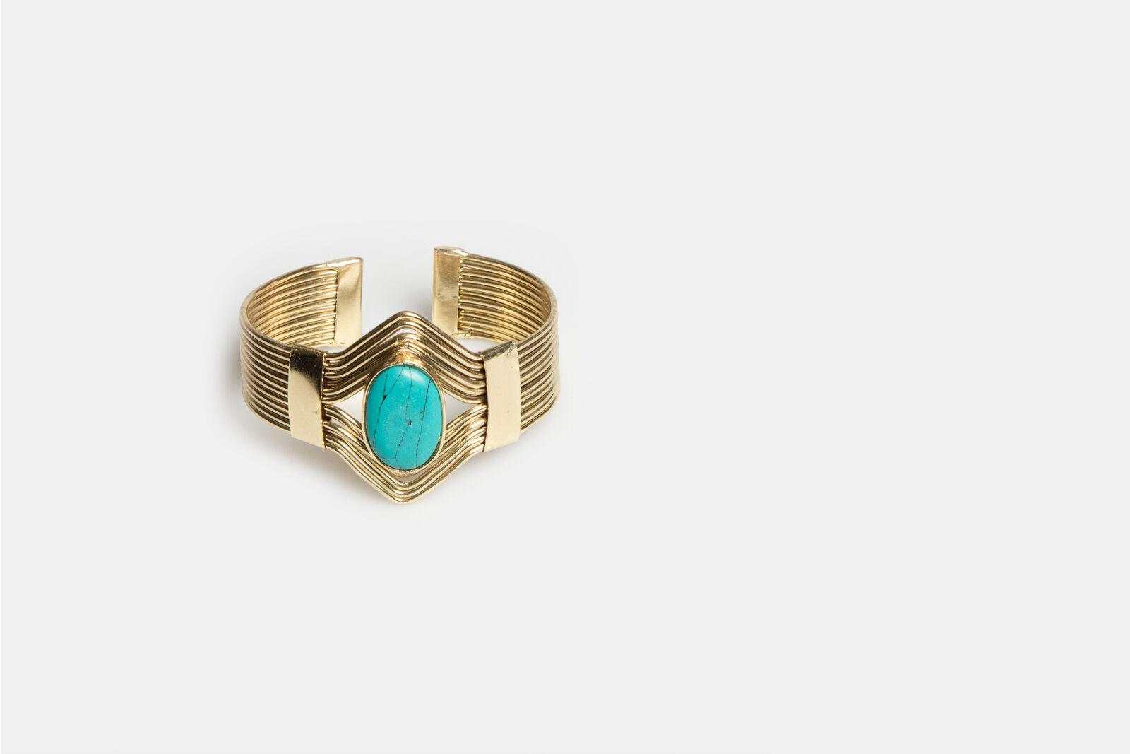 Turquoise Stone Armband