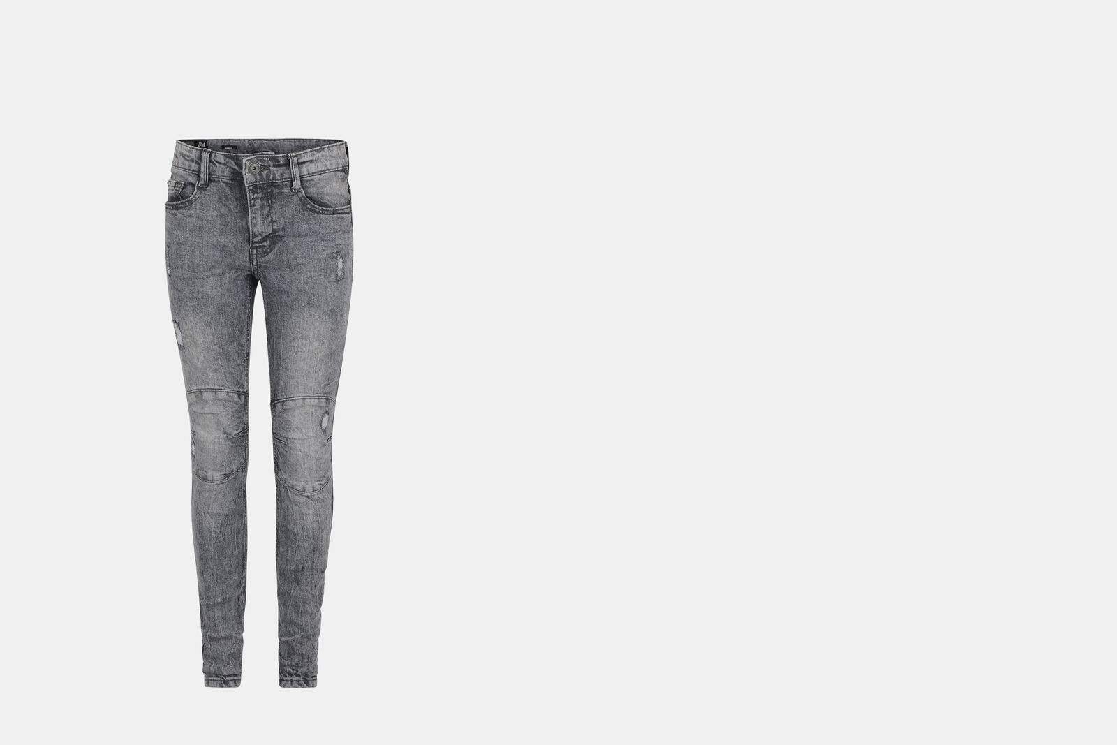 Flip Skinny Biker Jeans