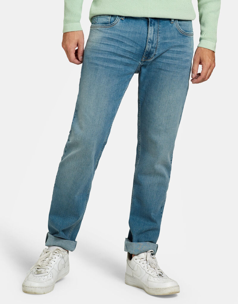 Lewis Straight  Lime Jeans L34