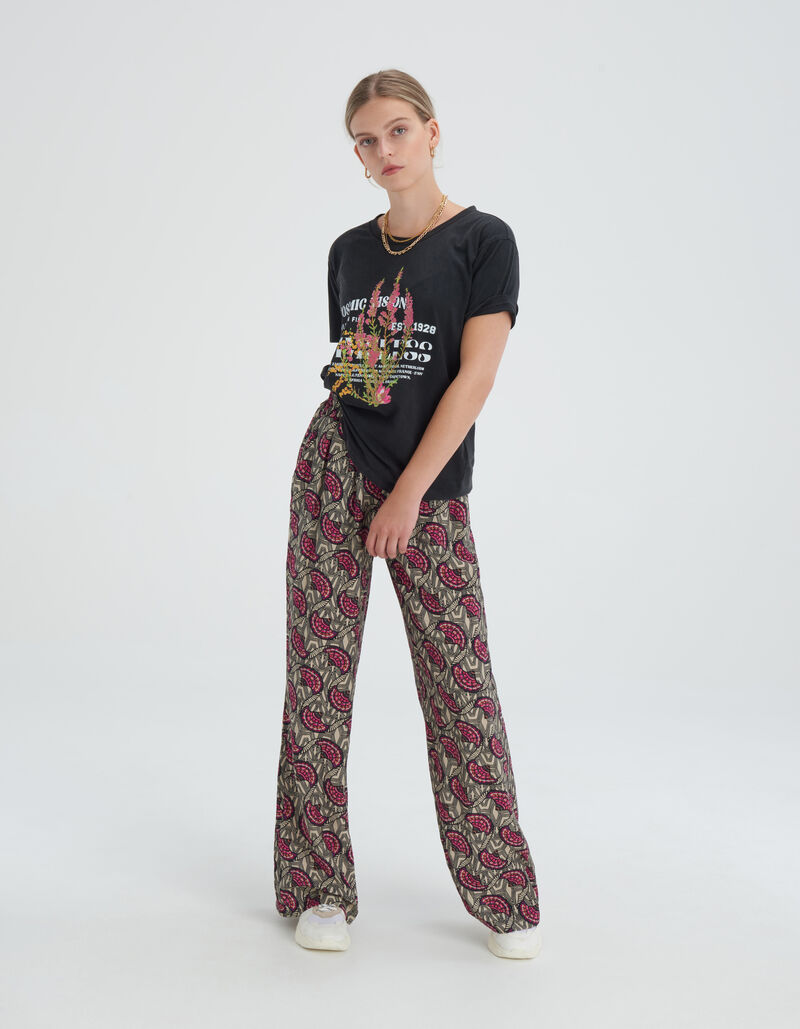 Flower Washed T-shirt