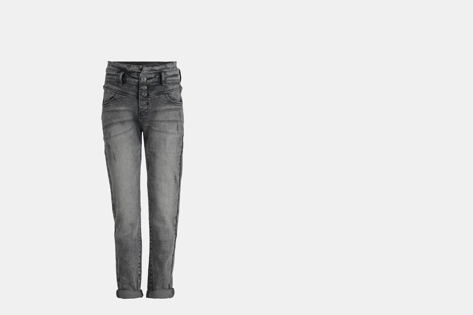 Tyrza Paperbag Skinny Jeans
