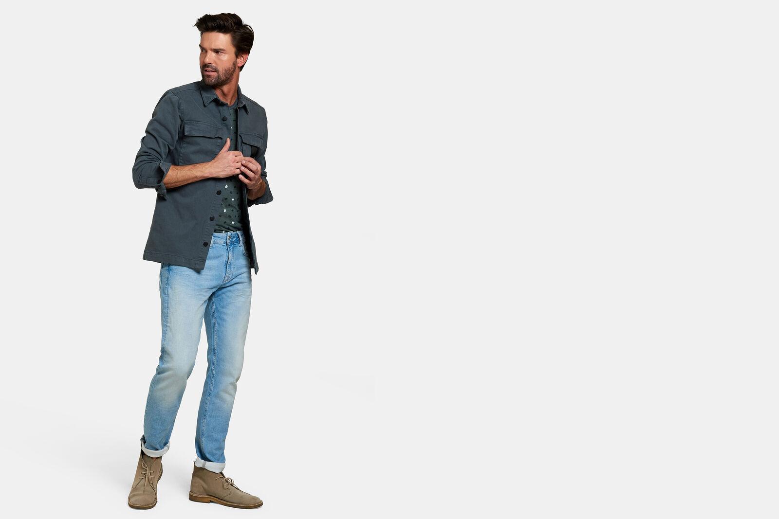 Lucas Slim Gym Bleached Jeans L32