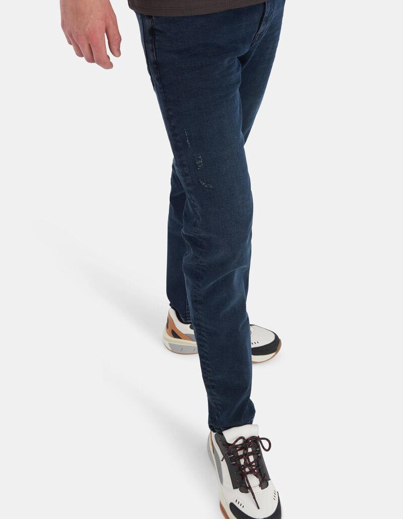 Lucas Slim Ametist  Blue/Black Jeans L32