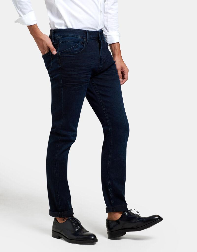 Lewis Straight Blue/Black Jeans L34