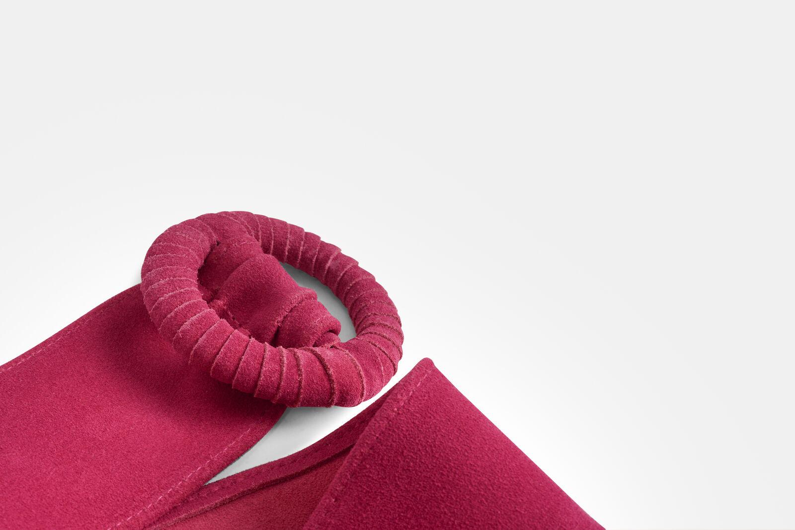 Suède Pink Riem