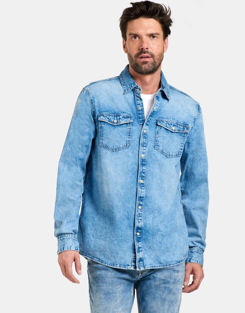 Tomsy Denim Overhemd