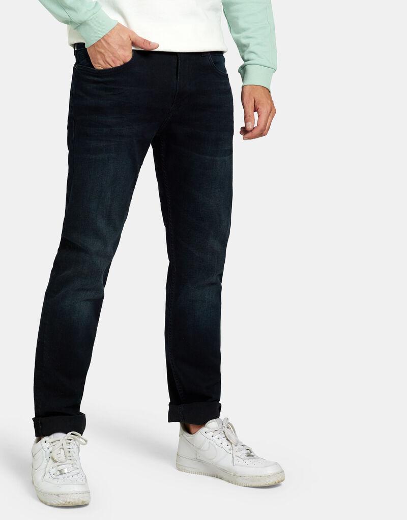 Lewis Straight Blue/Black Jeans L36