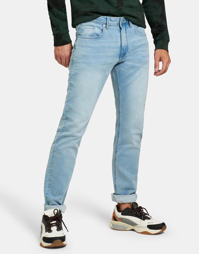 Lucas Slim Gym Bleached Jeans L34