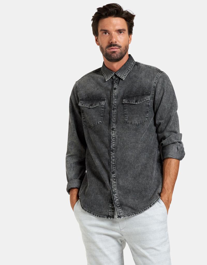 Thomas Denim Overhemd