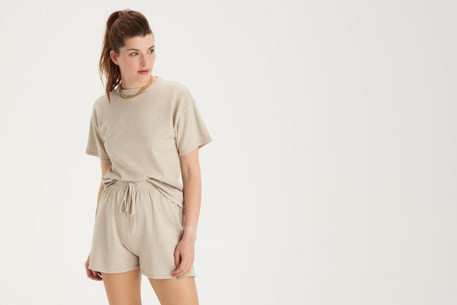 Knit Shortsleeve T-shirt