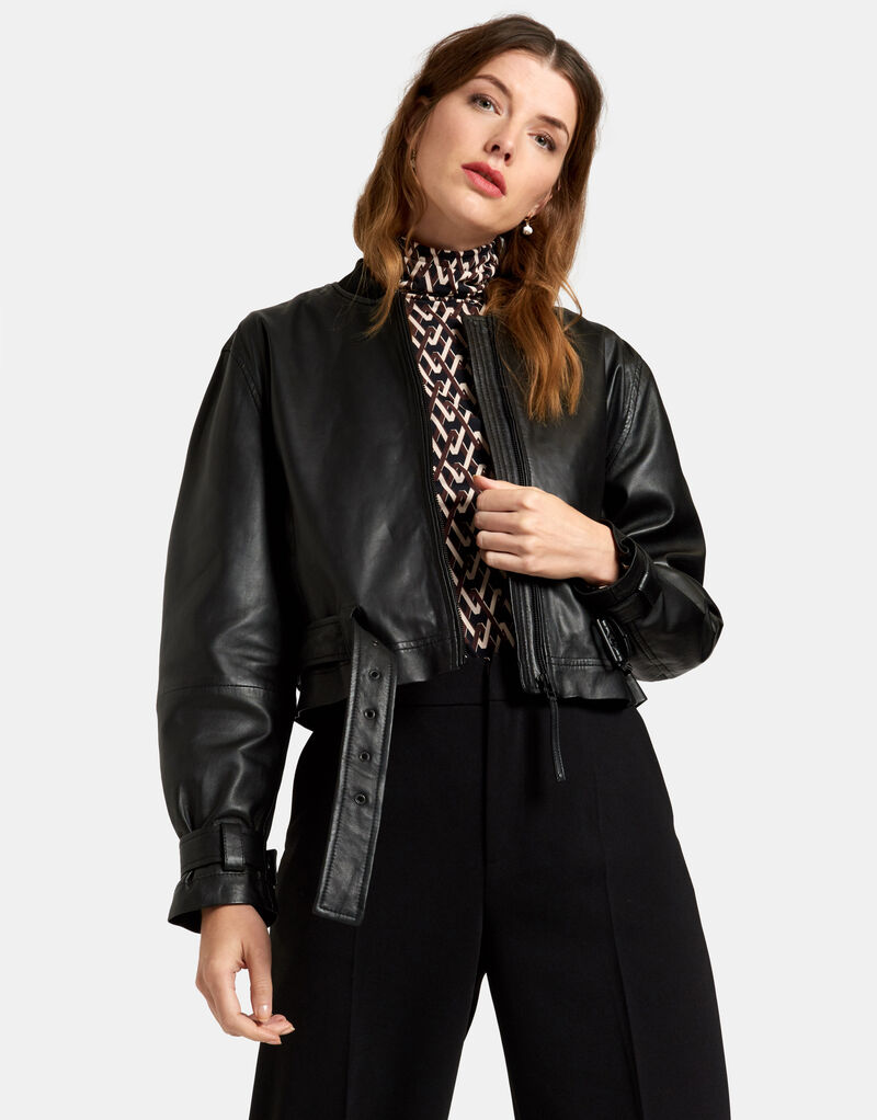 Leather Jacket by Mieke