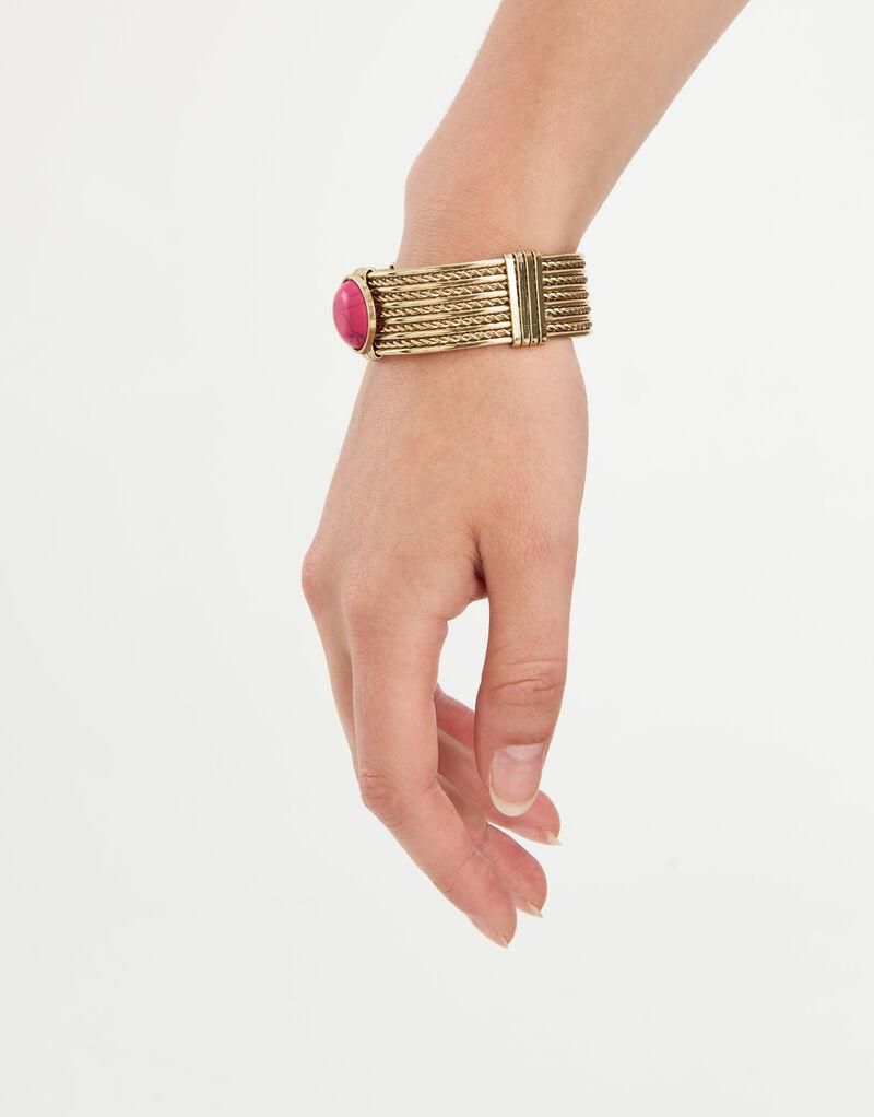 Beetroot Stone Armband