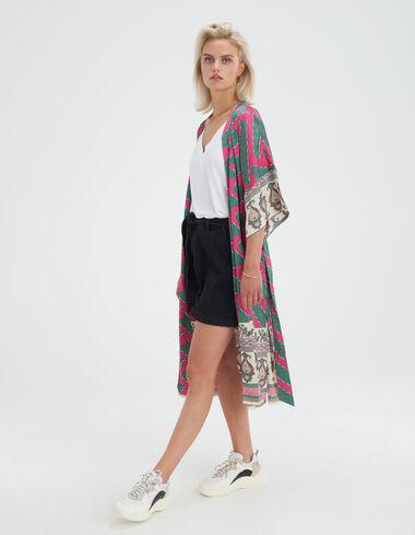 Printed Kimono