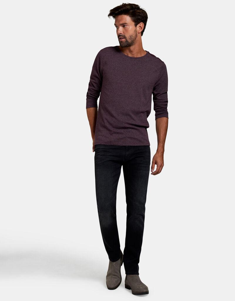 Lucas Slim Washed Black Jeans L34