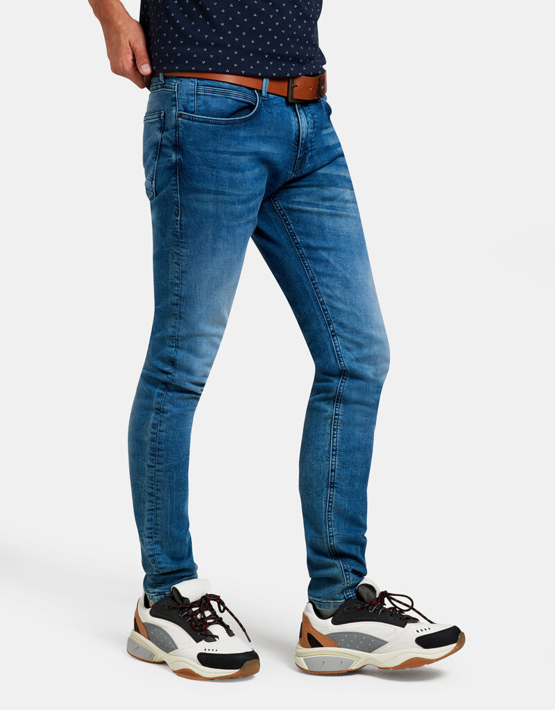 Leroy Skinny Gym Medium Stone Jeans L36