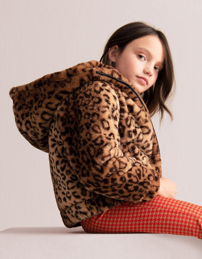 Tamsin Leopard Winterjas