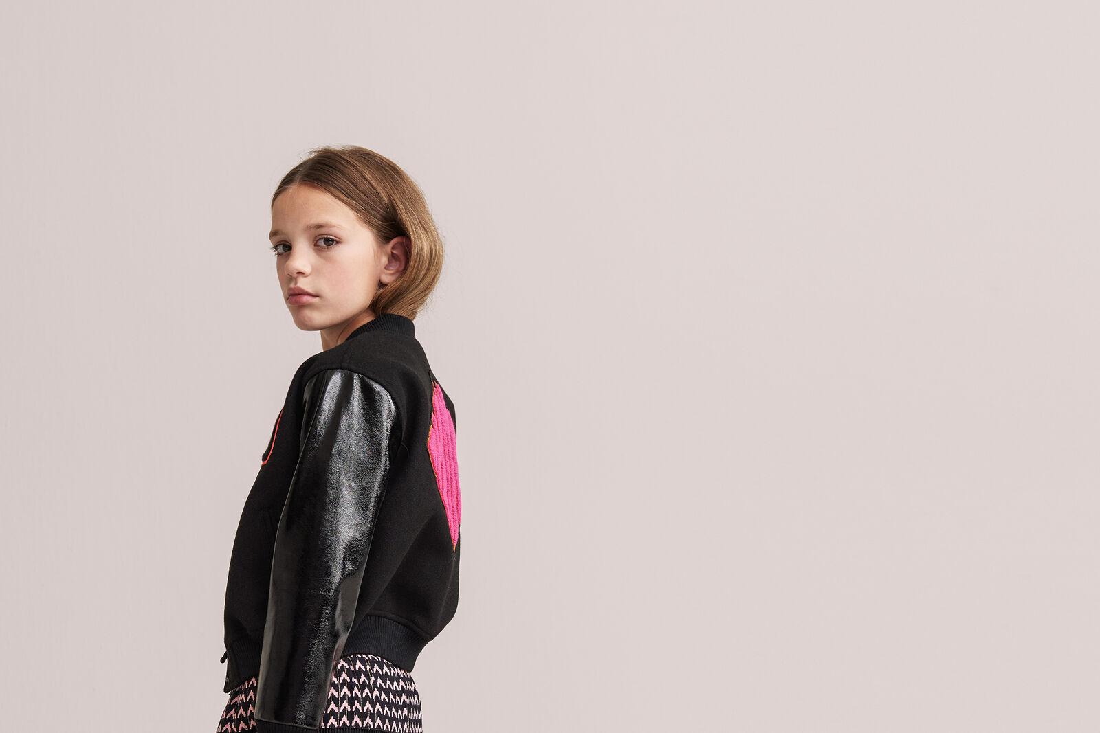 Hally Varsity Bomber by Nicolette van Dam