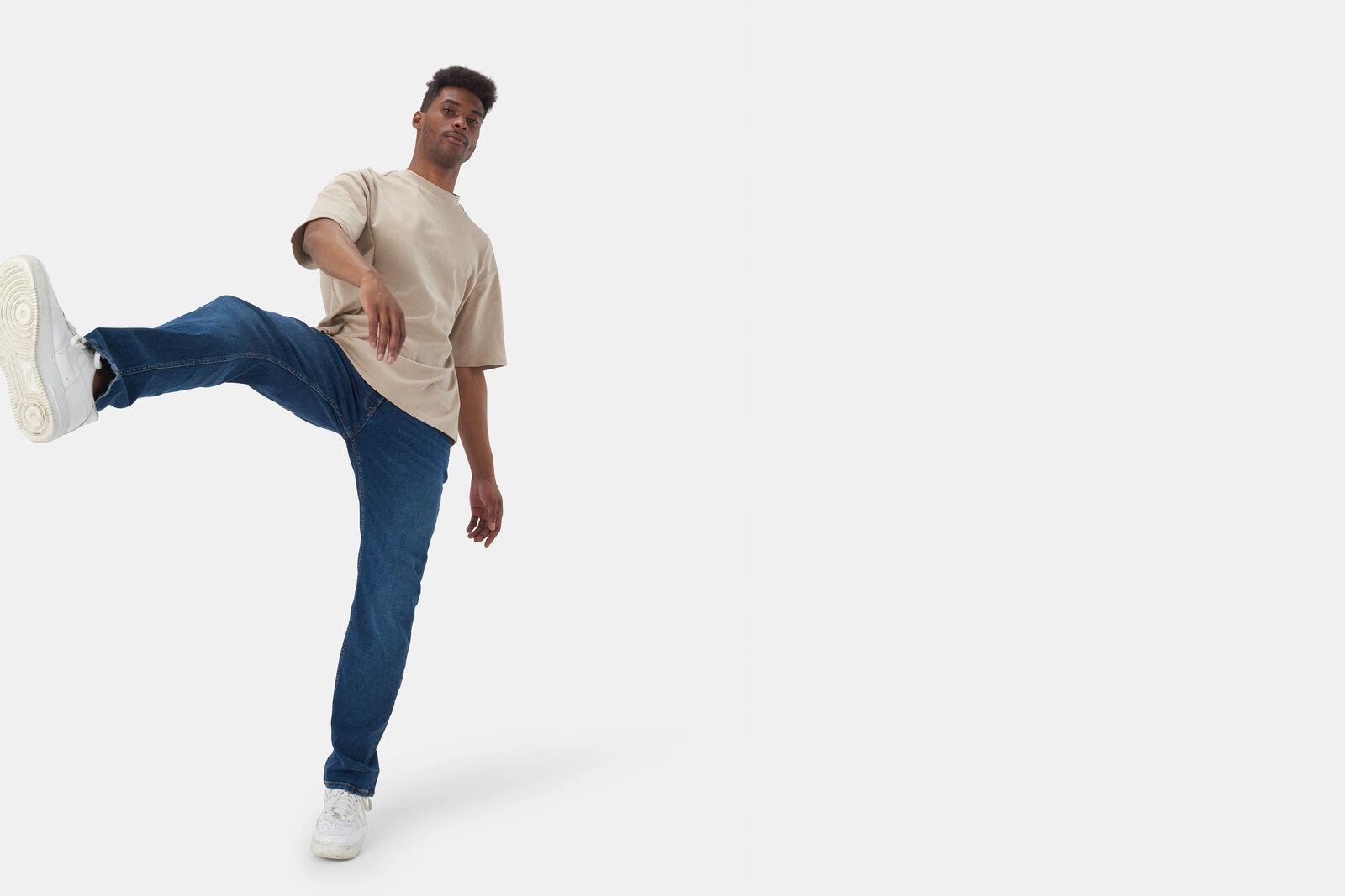 Lewis Straight Ametist Jeans L36