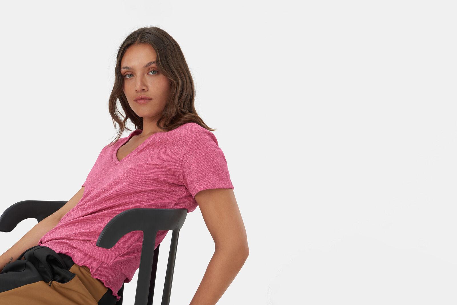 Glitter Knoop T-shirt
