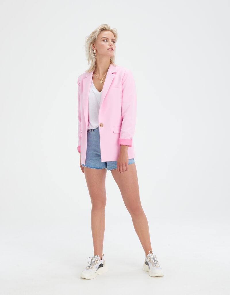 Bowie Pink Blazer